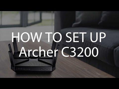 TP-Link AC3200 Wi-Fi Tri-Band Gigabit Router (Archer C3200) Setup Tutorial Video (EU)
