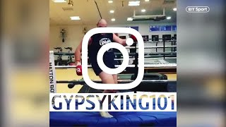 Tyson Fury looks back at his classic Instagram posts
