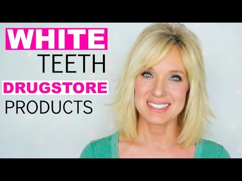 How I Get My Teeth WHITE with DRUGSTORE Products!