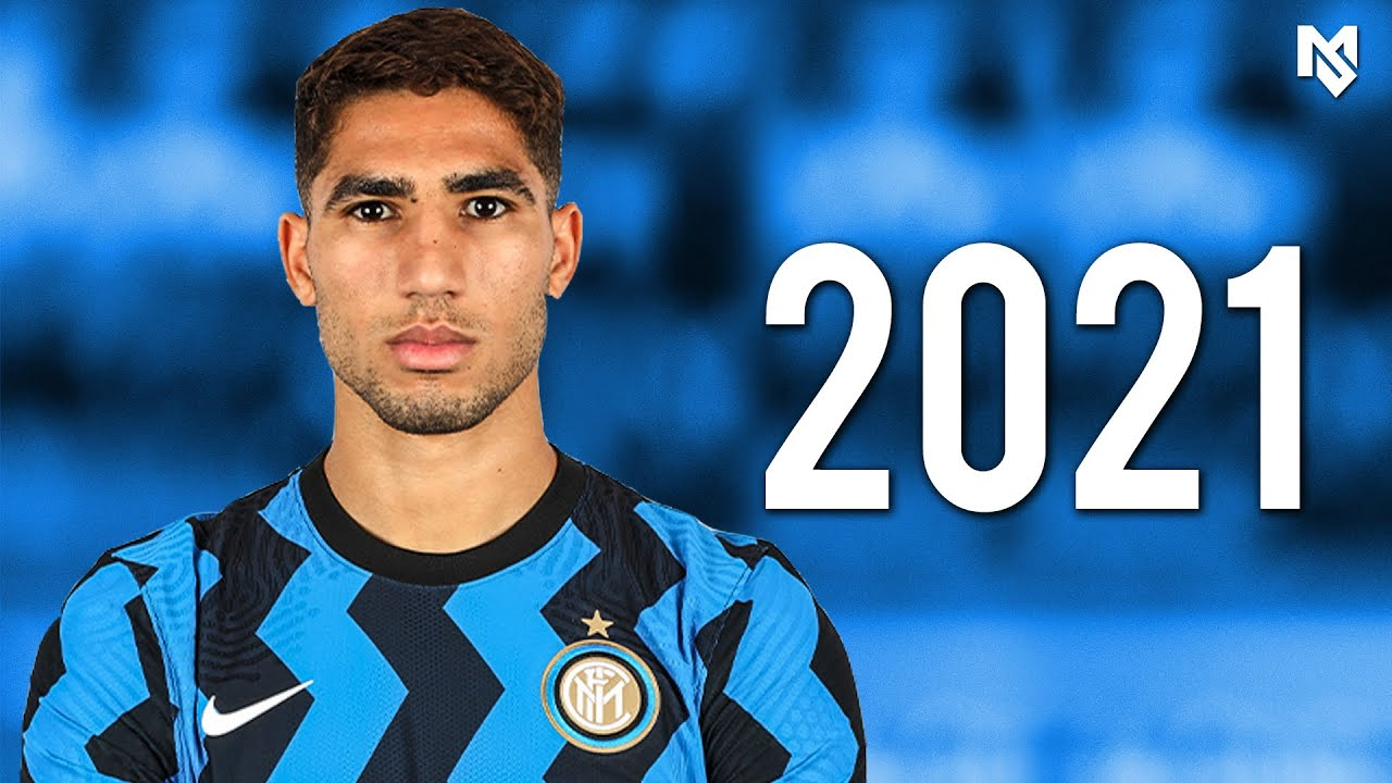 Achraf Hakimi 2021 - The best Right Back in Serie A - Skills Show