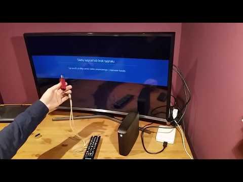 Samsung SMART TV J6300 TEST Obsługi Dysków USB