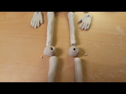 DIY Clay Doll - Joints & Hands