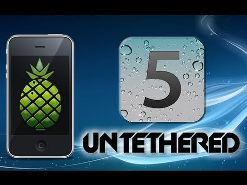 New Jailbreak 6.0.1/6.0/iOS 6/5.1.1/Untethered - iPhone 4, 3GS, iPad, iPod Touch 4G, 3G
