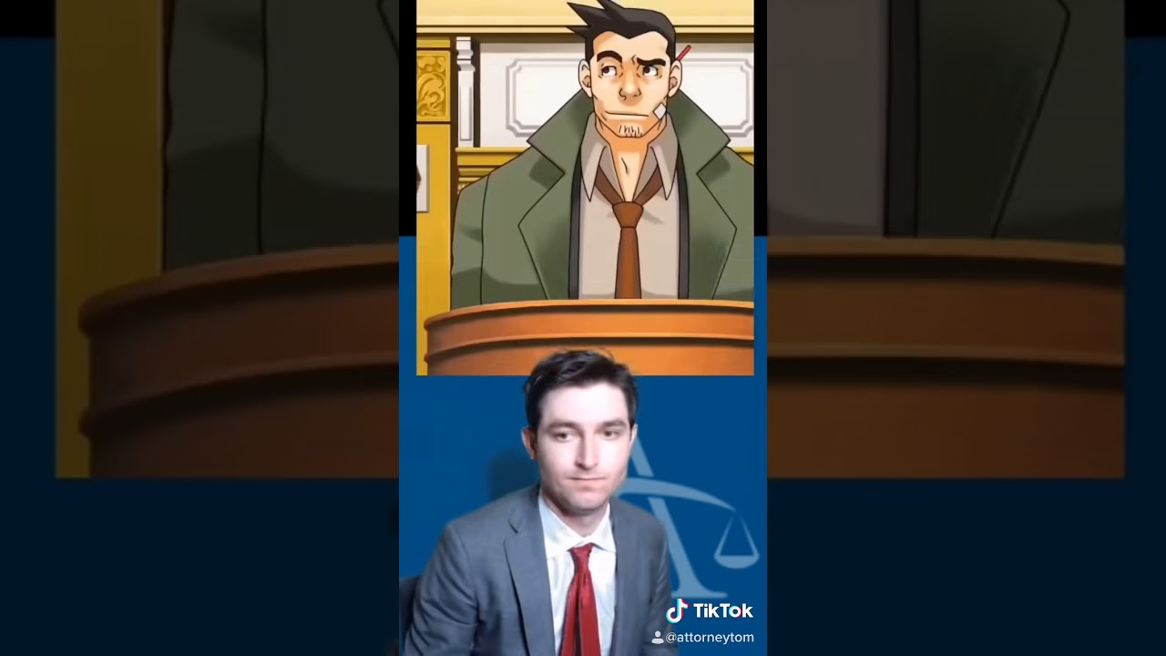 WHAT DO YOU MEAN THE REPORT IS OUTDATED?!? |Real Lawyer plays Phoenix Wright Ace Attorney #shorts