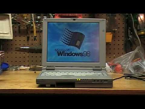 Toshiba laptop drop test
