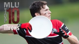 2016 Top 10 Throws