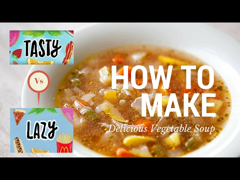 How to Make Delicious Vegetable Soup by Tasty Buzzfeed (Parody)