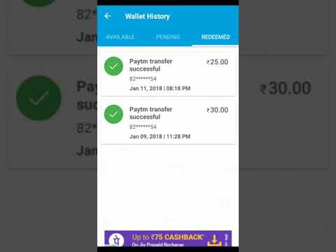Earn 1000-1500 free paytm cash every day 2018 100% working