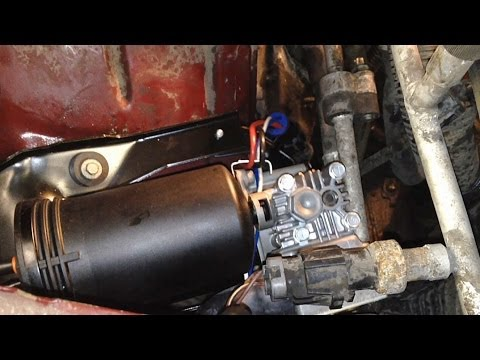Ford Air Ride Suspension Air Compressor Replacement