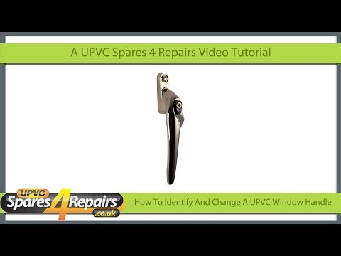 How To Identify And Change A UPVC Window Handle