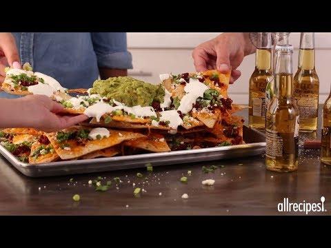 How to Make Giant Nachos | Game Day Recipes | Allrecipes.com
