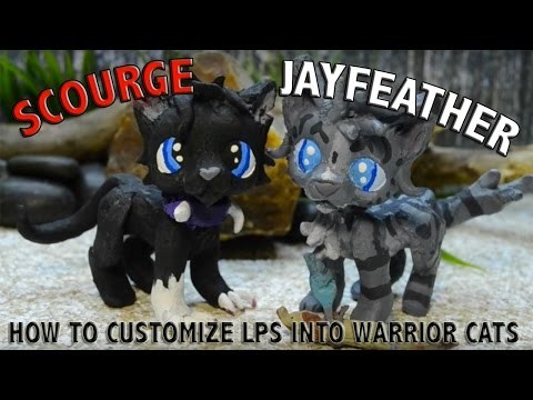 HOW TO CUSTOMIZE LPS INTO WARRIOR CATS
