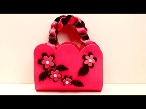 DIY Crafts for girls - How to create a simple purse - Make handmade purse at home - Tanis Gallery