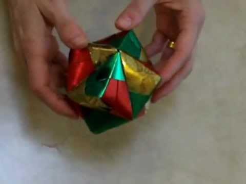 How to Make a Stellated Octahedron using Origami
