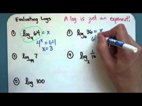 Evaluating Logs (8-3-2)