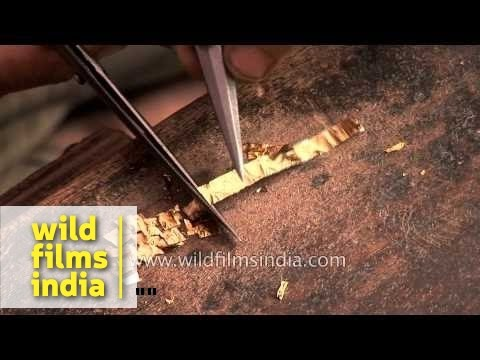 How Kundan and gold jewellery is made in Jaipur