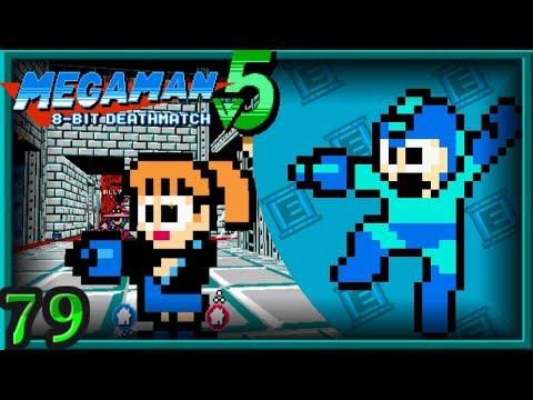 Mega Man 8-Bit Deathmatch V5C Multiplayer ~ CLASSES/CTF - Underwater Base X [79]
