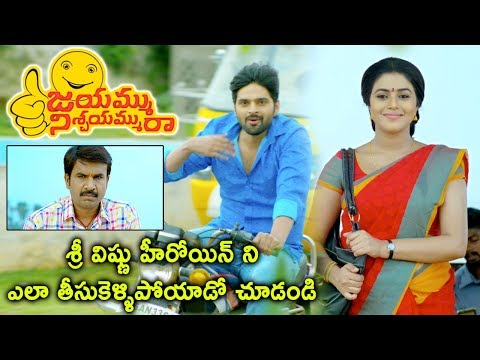 Jayammu Nischayammu Raa Scenes - Srinivas Reddy Feared Of