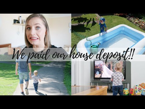 WE PAID OUR HOUSE DEPOSIT! THE SATURDAY VLOG #47 | CARLY ELLEN
