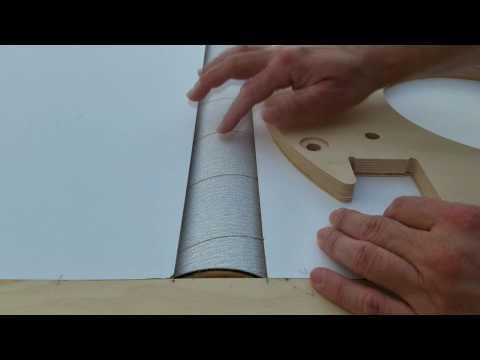 DIY Drum Sander for Telescope Shop