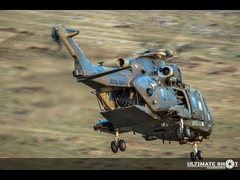 DSRT Ten Tors training with Royal Navy Merlin