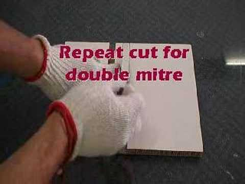 X-Board Hand cut Laminate Mitre
