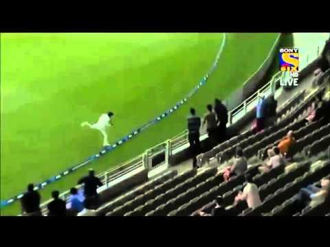 Ravindra Jadeja Amazing Catch  India vs News Zealand 2014