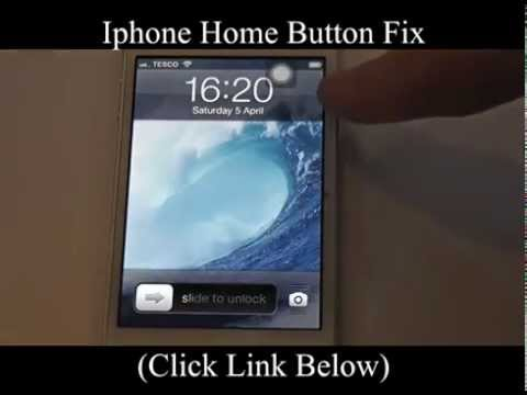 Iphone Home Button Fix  - Iphone Home Button Not Working Try This