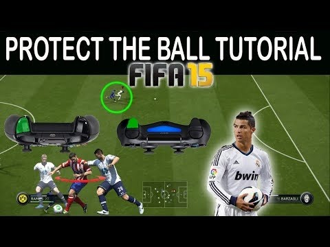 FIFA 16 (15) - ADVANCED PROTECT THE BALL TUTORIAL - USE YOUR BACK