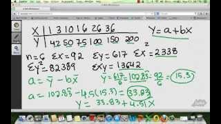TI-36X Pro Linear Regression and Linear Interpolation