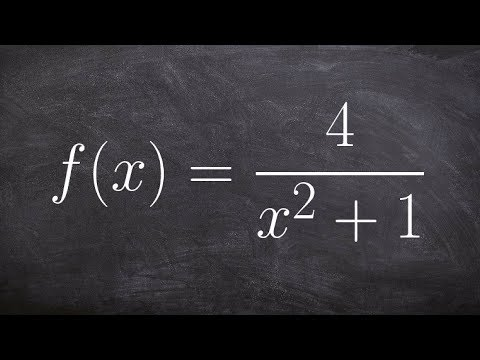 Learn to identify the VA and HA from a rational function