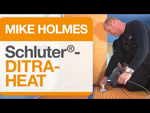 Mike Holmes on Schluter®-DITRA-HEAT