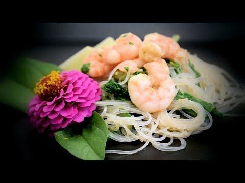 Chinese Shrimp & Noodle Salad (Chinese Style Recipe)