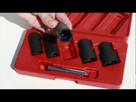 Access Tools - Easy Off Twist Socket Set (EO) Remove locking lug nuts
