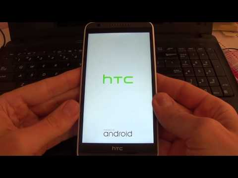 HTC Desire 820 - How to remove pattern lock by hard reset