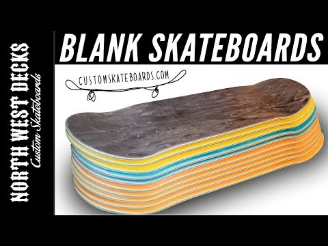 10 Blank Skateboards From CustomSkateboards.com