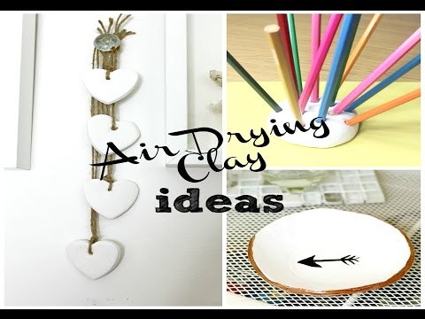 DIY | Air Drying Clay Ideas