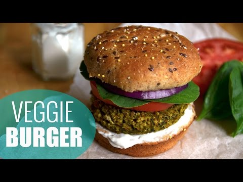How to Make Veggie Burgers | Millet Veggie Burger Recipe