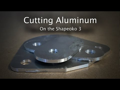 How (Not) to Cut Aluminum on the Shapeoko 3 - Project 44