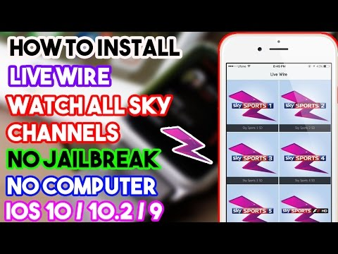 New How To Get Live Wire & Watch T.V Channels Free (NO JAILBREAK/COMP) iOS 10/9 On iPhone/iPod/iPad
