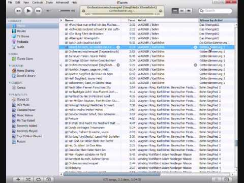 How to Edit Track Information for Mutiple Entires in iTunes