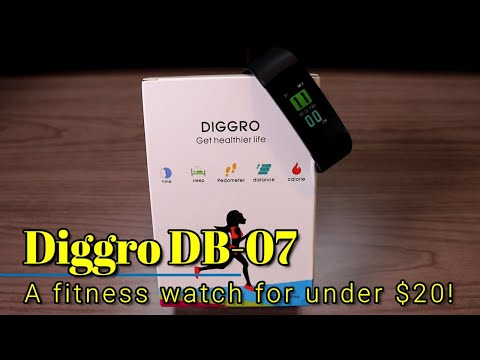 Diggro DB07 - A fitness watch for only 20!