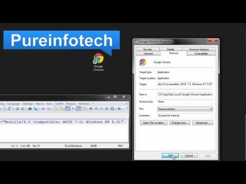 How to add and remove a command switch to Google Chrome