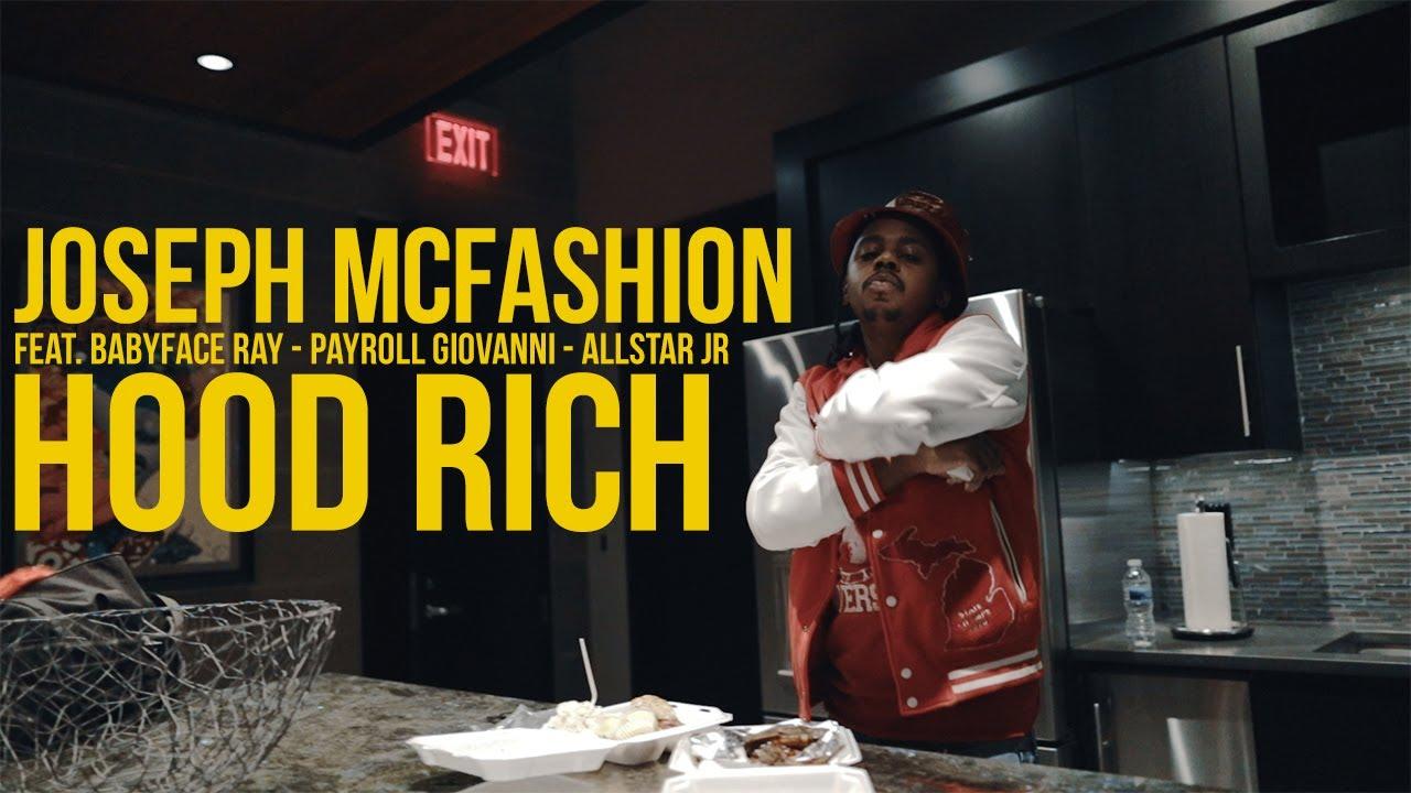 BabyFace Ray x Payroll Giovanni x AllStar JR - Hood Rich (Official Music Video)