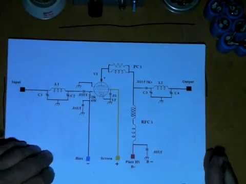 Build a Tube Type Linear Amplifier for CB or other HF Bands Part 1