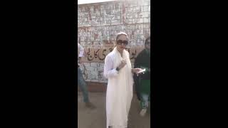 Pti ayesha warsi showing education system in sindh