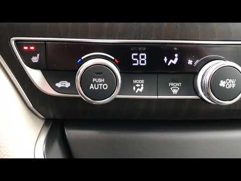 Honda Auto Climate Control