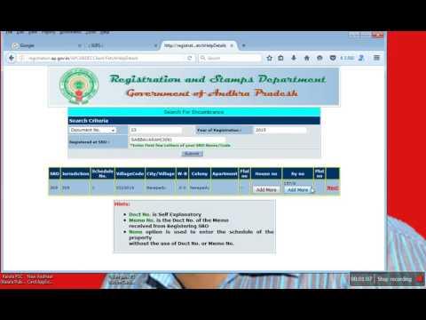 ap ec download AP Encumbrance Certificate HIGH