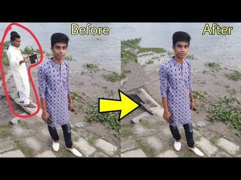 Remove Unwanted Background image & Edit photo By TouchRetouch App