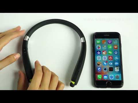 Toughsty Multi-function Foldable Sport Bluetooth Earphone(Model Number: HSET011)